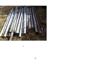 GALVANIZED STEEL PIPE POSTS Belleville Belleville Area image 1
