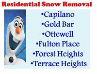 CAPILANO*GOLD BAR* FOREST HEIGHTS SNOW REMOVAL