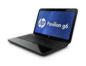 LAPTOP HP G6 AMD E-450 4gb 500gb WEBCAM WIN7 130$