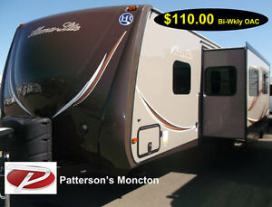TRAVEL TRAILER, ALUMA LITE,298 RGD,MONCTON