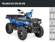 POLARIS UTE 570 HD MY18 SAVE $2000 Fulham West Torrens Area Preview