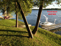 Waterfront Cottage for Sale on Muskrat Lake