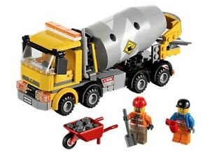 Lego City 60018 - Cement Mixer (Retired)