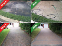 Wanted: Small jobs -- pressure washing service