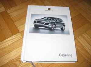 2005 Porsche Cayenne Hardbound book brochure GERMAN TEXT