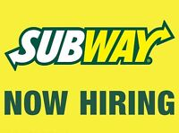 Assistant Manager - Subway Quispamsis
