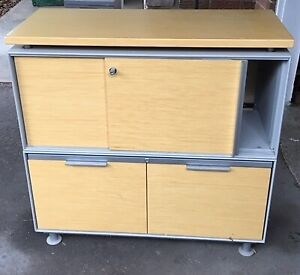 Classy professional Teknion Office Filing Cabinets for sale