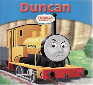 NEW - THOMAS and FRIENDS ( 18 ) DUNCAN (Passengers and Polish) STORY LIBRARY
