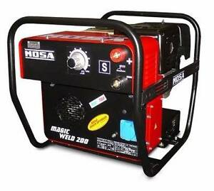 Mosa Magicweld 200 Petrol Welder Generator Bundaberg Central Bundaberg City Preview