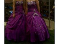 Beautiful bridesmaid/prom dress 12-14