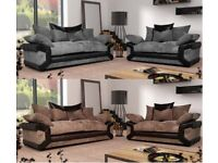 SCS sheldon 3&2 sofas with FREE FOOTSTOOL