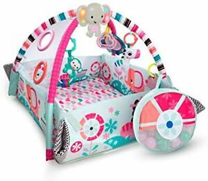 Bright Starts Pink 5 in 1 Activity Centre- Like New!