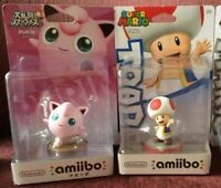 Jigglypuff, Inklings and Toad amiibos
