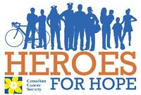 Canadian Cancer Society Heroes For Hope Hockey Game