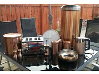 Copper kitchen collection. All from next plc.