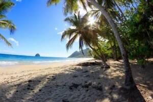 MARTINIQUE Villa de vacances, bord de mer Caraïbe