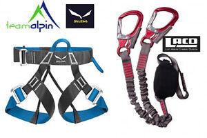 Klettersteigset LACD Pro + Salewa Via Ferrata Evo