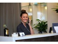 Receptionist spa