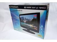 E-motion 22 inch LCD TV With Freeview
