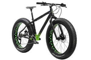Fat bike green