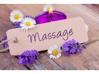 Relax from head to toe with a full body massage