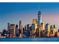LONDON - NEW YORK 24.OCT - 05.NOV- 4 return tickets