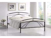 NEW 5' king size metal bed frame