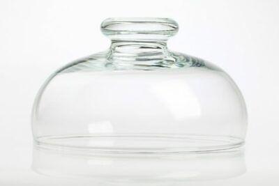 Medium Display Glass Cake Dome Cover / Lid Diameter 21 cm for Cheese (Medium Cake Dome)