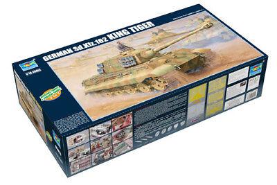 Trumpeter 9360910 Panzerkampfwagen IV Königstiger 2-in-1 1:16 Modellbausatz