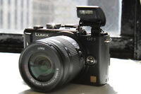 Lumix GF1 Body Legendary M43 14-42mm with full manual control