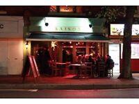 FT Floor/Bar Supervisor Required for Neighbourhood bar/restaurant.