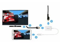 Micro usb to HDMI MHL cable Galaxy S3,S4,S5,Note 3,4,TAB XPERIA,LG,HTC. SOUTHALL