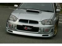 Subaru impreza 04-06 (blobeye) front splitter lip bumper