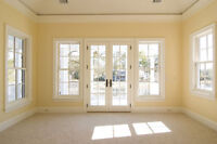 Residential housing doors and windows