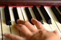 Cours de piano (JAZZ/POP/ROCK)