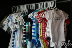 Jumbo Bag of Baby Clothes up to 18 months $25. for all