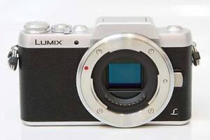 Lumix (Panasonic) GF7 Micro 4/3 camera and lens