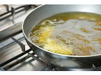 Used cooking oil £0.10 per liter free collection.