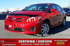 2013 Toyota Corolla CE Certified! CD/MP3 Stereo! Power Doors! A/