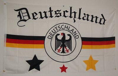 LAND FUSSBALL ADLER 90cm x150cm MEINE MANNSCHAFT SAMMLER D 3 (Fußball-adler)