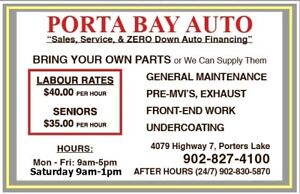 BRING YOUR OWN PARTS!    DISCOUNT LABOR RATES