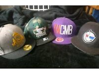 Bundle of snapbacks and fitted new era