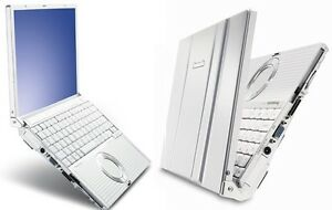 RELIABLE PANASONIC TOUGHBOOK CF-T8 RUGGED LAPTOP DROP PROOF