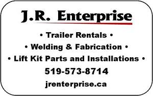 6x14 ENCLOSED CARGO TRAILER FOR RENT Kitchener / Waterloo Kitchener Area image 3