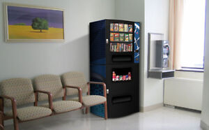 6 NEW VENDING DRINK/SNACK MACHINES- COMPACT COVENIENT STYLE