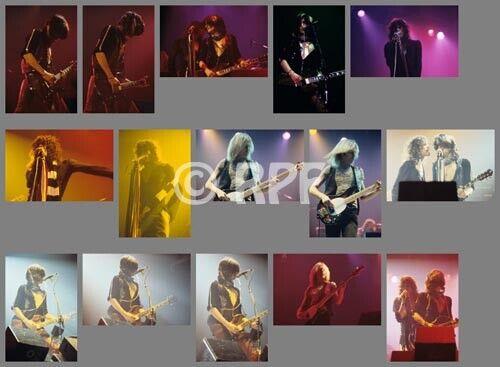 Aerosmith 77/10/20 photo SETb, 15 photos 4x6 - TORONTO