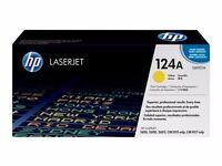 GENUINE HP 124A TONERS CARTRIDGE Q6000A, Q6001A, Q6002A, Q6003A NEW UNOPENED