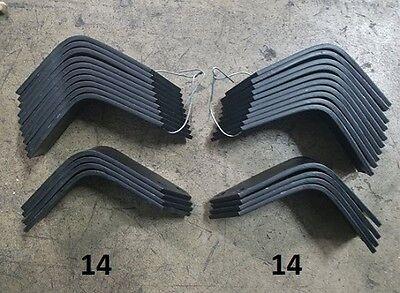 14 Each LH & RH Tiller Tines for Land Pride RTA10 Series  820-055C 820-056C