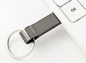 USB 2.0 32GB Memory Card Flash Drive Stainless Steel Case