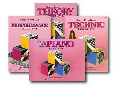 Bastien Piano Basics Book Pack, Primer Level on Rummage